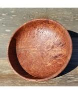 Redwood Bowl Burl Handmade 9.5 Inch Wood Salad Bowl Gorgeous Grain #A16 USA - $333.99