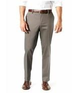 Men's Dockers® Signature Khaki Lux Straight-Fit Stretch Pants, Gray - $24.91