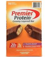 1 Box Premier Nutrition Premier Protein Creamy Layered 16 Bars 2 Flav BB... - $40.99