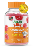Lifeable Magnesium Citrate for Kids, Great Tasting Natural Flavor, 90 Gu... - $16.99