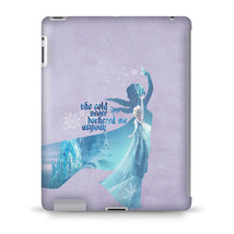 Elsa Frozen The Cold Never Bothered Disney Princess Tablet Hard Shell Case - $29.99+