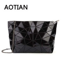 2018 Hologram Women Bao Clutch Laser Bags Casual Tote Fashion Chains Mes... - $72.58 CAD