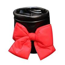PANDA SUPERSTORE Red [Bow-Knot] Car Pocket Supplies Car Cup Holder Phone Holder