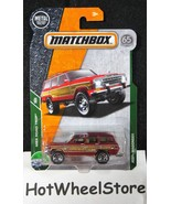 2018 Matchbox  Red  Jeep Wagoneer from Breaking Bad    Card #88   MB11-0... - $2.75