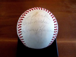 HARVEY KUENN 1959 BATTING CHAMP TIGERS BREWERS SIGNED AUTO VTG BASEBALL ... - $197.99