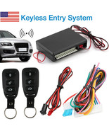 Universal Car Remote Central Kit Door Lock Vehicle Keyless Entry System DC 12V - $26.00