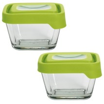 Anchor Hocking TrueSeal Glass Food Storage Containers with Lids, Green, ... - $28.75