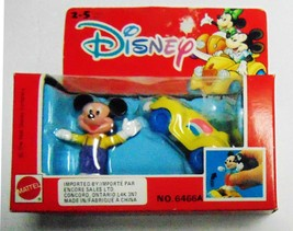 Disney Mickey Mouse Collectible Die-Cast Car and Figure - Mattel 1991 - New - $21.06