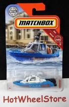 2018  Matchbox   TINFORCER  POLICE BOAT   Card #65   MB14-110818 - $2.50
