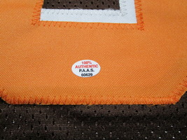 BAKER MAYFIELD / CLEVELAND BROWNS / AUTOGRAPHED CUSTOM FOOTBALL JERSEY / COA image 5