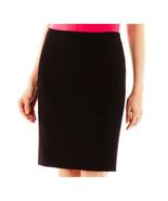 Worthington Modern Seamed Pencil Skirt Size 12P, 16, 18 Black - $17.99