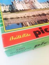 "Vintage 50s Warren Diamond Lock Picture Puzzle- #500 ""FRANCE: Chateau Chambord""  image 3"