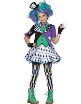 Fun World Little Girl's Lrg/mad Hatter Chld Cstm Childrens Costume, Mulr... - $25.94