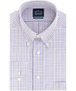 NWT  Eagle Men's Size 18 Violet Twist Check Dress Shirt - $23.71