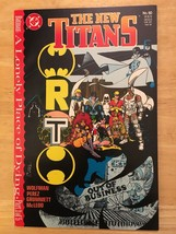 The New Titans #60 1989 DC Comic Book NM Condition 1st Print Batman - $2.69