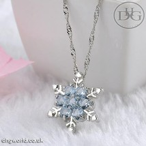 Yanqueens Elegant, Snowflake Themed Ladies / Women's Pendant / Necklace ... - $2.99