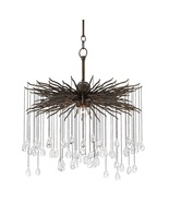 Currey and Company Fen Chandelier, Small 9000-0198 - $1,890.00
