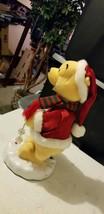 "Gemmy Snowflake Spinning Winnie the Pooh Disney Christmas Decor 16"" FOR ... - $34.64"