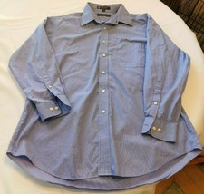 Men's Tommy Hilfiger Long 100's Two Ply Sleeve Button Up Shirt 16 1/2 32-33 L - $24.05