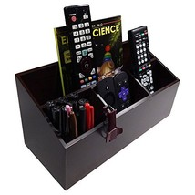Octavia Wood 4-Compartment Office Desk Organizer Caddy - Large - $30.94
