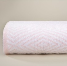 Kashwere Pink and White Diamond Throw Blanket - $165.00