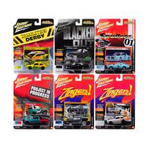 Street Freaks 2017 Release 4B Set of 6 cars 1/64 Diecast Model Cars by J... - $57.86