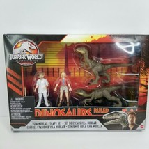 Mattel Jurassic World Legacy Collection Isla Nublar Escape Playset Veloc... - $39.59