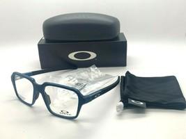 New Oakley Miter OX8154 0554 Satin Light Blue Eyeglasses Frame 54-18-138MM Nib - $96.97