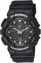 Casio Men's G-Shock GA100GBX-1A4 Black Quartz Sport Watch - $77.72