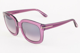 Tom Ford CHRISTOPHE Purple / Gray Gradient Sunglasses TF279 90W - $155.82