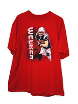 NFL Team Apparel Size 2XL Red Wes Welker Wide Receiver T-Shirt - $22.40