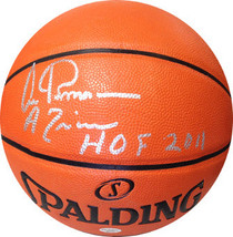 Artis Gilmore signed Indoor/Outdoor NBA Spalding Basketball HOF 2011 & A... - $98.95
