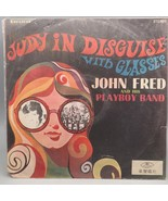 Vintage John Fred And His Playboy Band Judy In Disguise Vinyl Record Alb... - $49.49