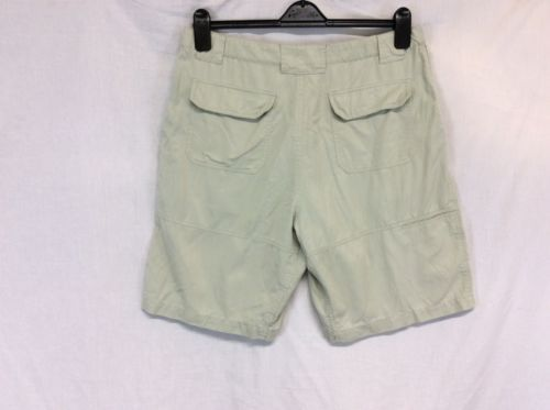 TOMMY BAHAMA Khaki Sz 35 Relax 4 Pocket Cotton Blend Men's Shorts
