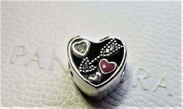 Pandora Sterling Silver Love Struck Valentines Charm - $52.00
