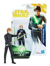 Star Wars Force Link 2.0 Luke Skywalker 3.75-Inch Figure New in Package - $9.88