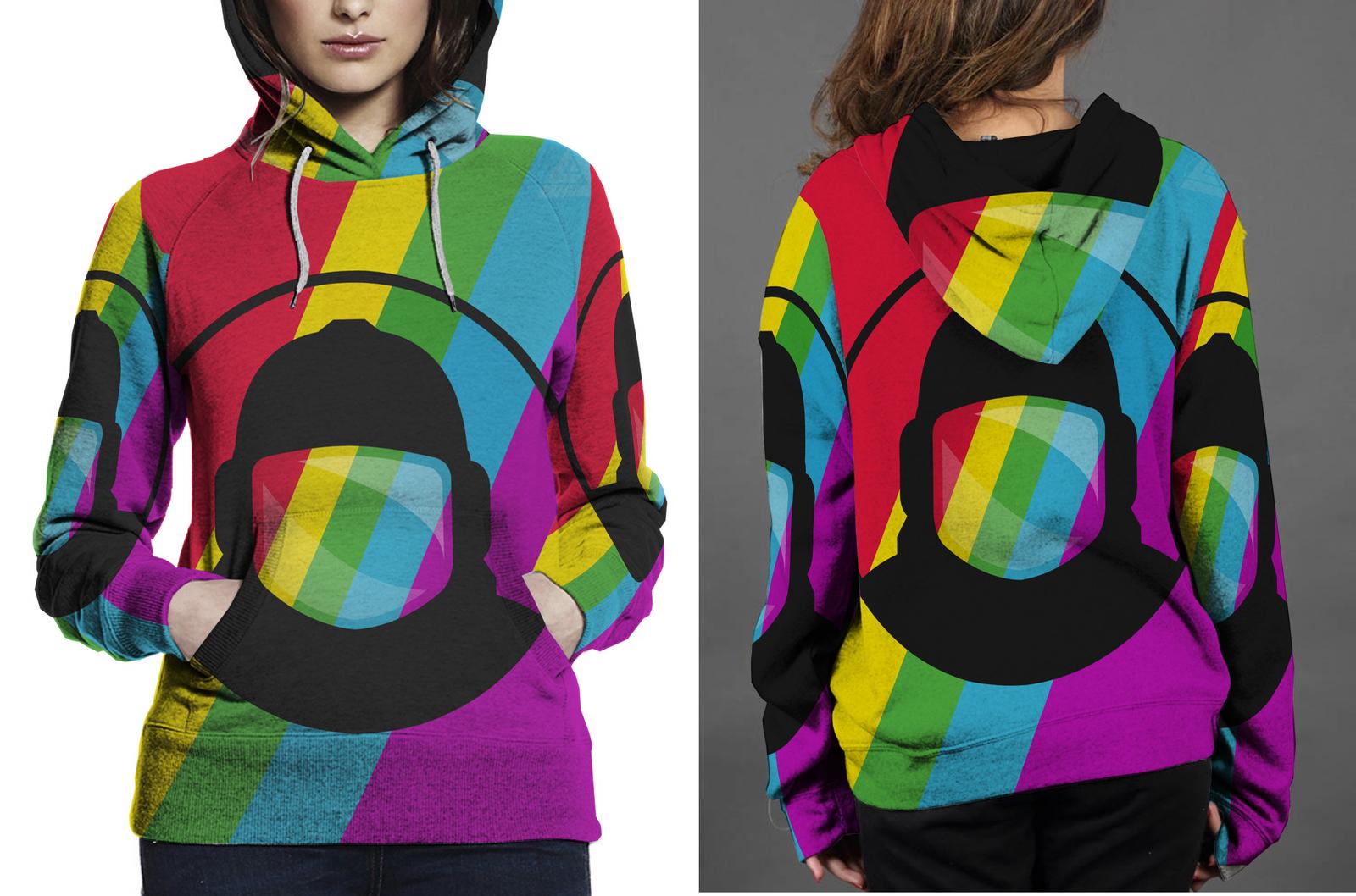 Retronaut hoodie women s