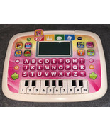 VTECH Little Apps Tablet Letter Buttons & Piano Keyboard 80-139451-Pink ... - $14.84