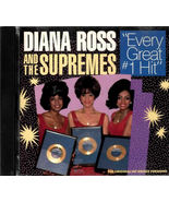 Diana Ross And The Supremes ( Every Great Original #1 Hit ) CD - $3.50
