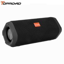 TOPROAD® Fabric Stereo Bluetooth Speaker Waterproof Outdoor Handsfree Wi... - $42.72