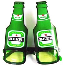 BEER BOTTLE PARTY SUNGLASS novelty eyewear glasses #165 - $6.31