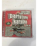 Festa Tyme Karaoke: Natale Sing Along By Sybersound CD Testato Ships N 2... - $14.75