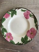 "Set 10 Franciscan Desert Rose Bread Plate 6"" New Modern Stamp Replacement image 9"
