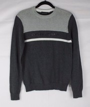 DNKY Jeans men's sweater crew neck knit cotton gray size XS - $17.59