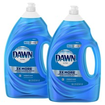 Dawn Ultra Dishwashing Liquid Dish Soap, Original Scent, 2 count, 56 oz. - $29.20