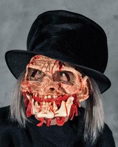 Undertaker Mask Zombie Living Dead Ring Master Bloody Halloween Costume ... - $110.02 CAD