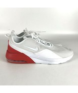 Nike Air Max Motion 2 Running Shoes Men's Size 14 White/Red AO0266 102 - $74.30