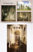 POSTCARDS - St Albans Abbey, Exterior and Interior Views ENGLAND UK - $2.38