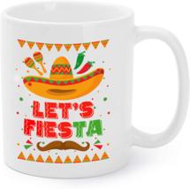 Lets Fiesta Mexican Cinco De Mayo 2019 Party Coffee Mug - $16.95