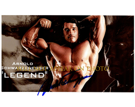 ARNOLD SCHWARZENEGGER Signed Autographed Photo w/ Certificate of Authent... - $90.00